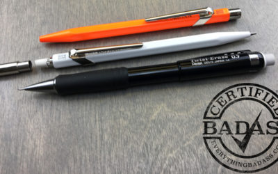 Make a statement with a Caran d'Ache Pen and Pencil