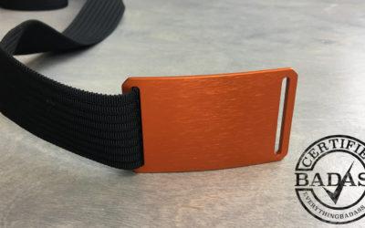 A High Quality Minimalistic EDC Belt by Grip6
