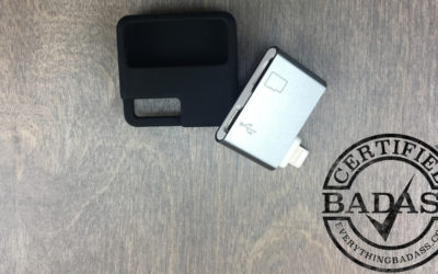 Increase iPad iPhone Storage with this MicroSD Card Adapter