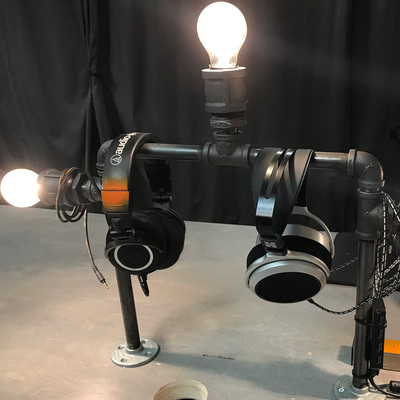 Diy Desk Lamp Industrial Lighting With Edison Bulbs And Black Pipe